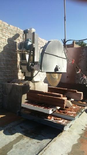 Single Pillar Stone Block Cutting Machine