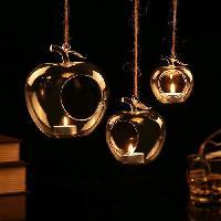 Glass Hanging Apple