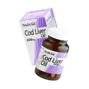 Cod Liver Oil  1000 Mg Capsules