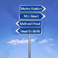 Directional Sign Board