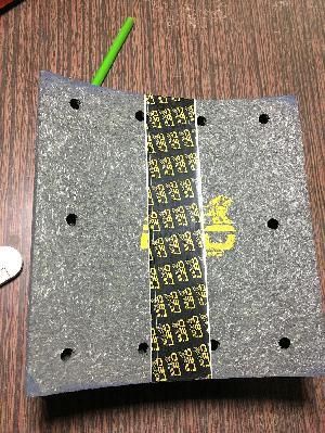 Brake Lining - DLX NA - SM/1/2 - Front & Rear - 1510 TS/1/2