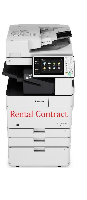 Photocopy Machine On Rental Contract