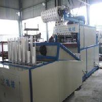 plastic glass making machine