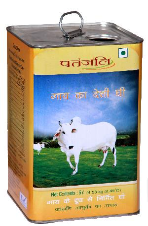 5 Ltr Square Ghee Tin with Offset Full Printing