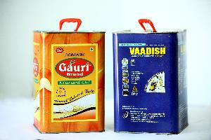 5 Ltr Tin with Full Offset Printing _ Plastic Handle