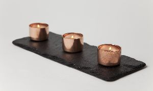 Copper Coated Candles