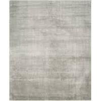 Handknotted Modern Wool Viscose Carpet