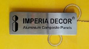 Stainless Steel Pocket Badges