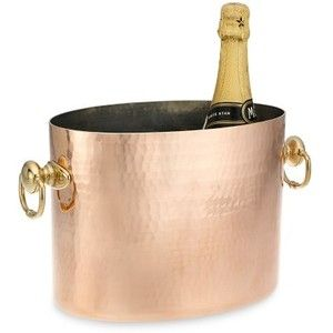 copper wine holder