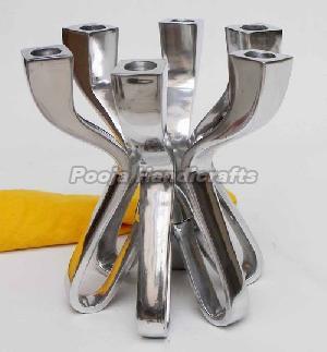 Aluminum Candle Holder