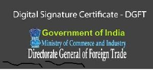 Dgft Digital Signature Services