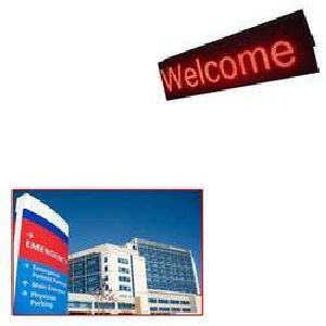 Hospital Led Sign Board