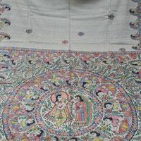 Raas & Doli Madhubani Art Sarees