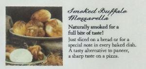 Smoked Buffalo Mozzarella Cheese