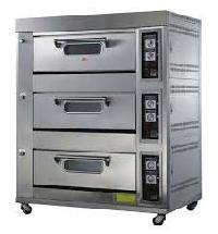 Three Deck Bakery Oven