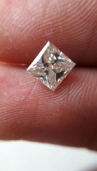 Princess Cut Moissanite Diamonds