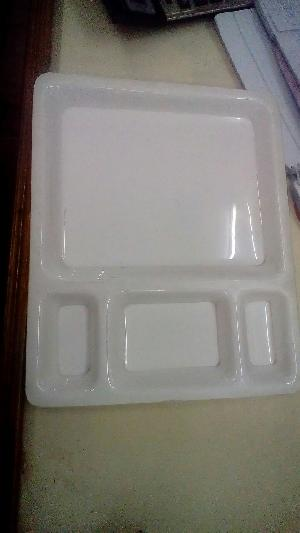 Acrylic Compartment Plates