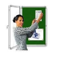 Door Covered Notice Board