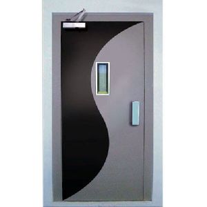 Semi Automatic Elevator Door