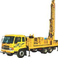 Hydraulic Borewell Drilling Machine
