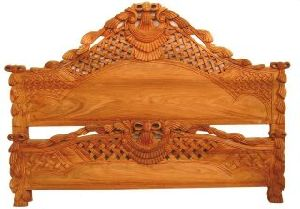 Wooden Bed Back Heads