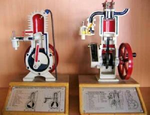 4 Stroke Petrol Engine