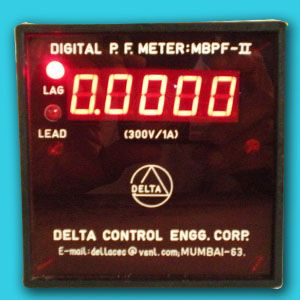 Microprocessor Based Power Factor Meter