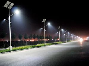 Battery Solar Street Light
