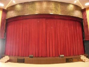 Automated Round Stage Curtain