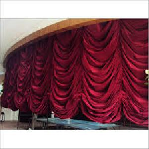 Automatic Vertical Stage Curtain