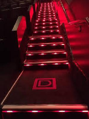 Cinema Step Lighting Installation