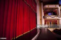 Motorized Horizontal Stage Curtain