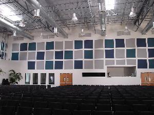 Strech Faric Wall Panels Installation
