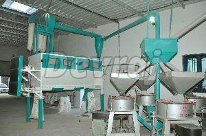 Horizontal Flour Mill Plant