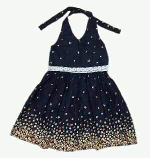 Girls Halter Neck Dress