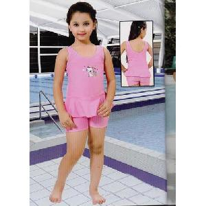 Girls Short Length Swimming Suits