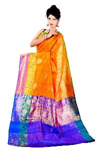 Banaras Handloom Dupion silk saree