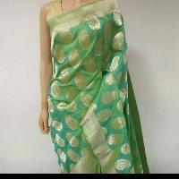 Banaras Handloom Katan silk saree