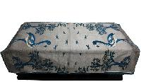 Swan Print Table Cover