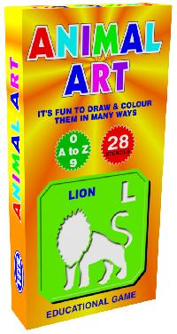 Animal Art Jr Creative Educational Preschool Game