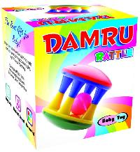 Damru Rattle Preschool Educational Learning Toy