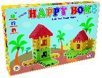 Happy Home Jr Construction Building Blocks Kids Toys