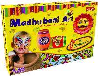 Madhubani Art Decorative Creative DIY Art And Craft Kit