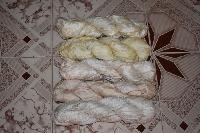 Sari Silk Off White Ribbons