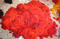 Silk Waste Fiber