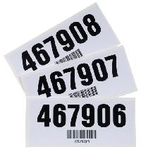 Gallas barcode Label