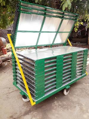 Leaftruck Trolley For Tyre Tread & Tube