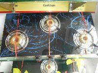 3 Burner Apex Gold Gas Cooktop