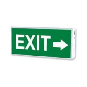 Ees-06 Exit Glow Sign Board