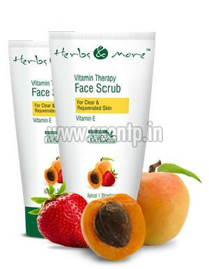 Apricot & Strawberry Face Scrub